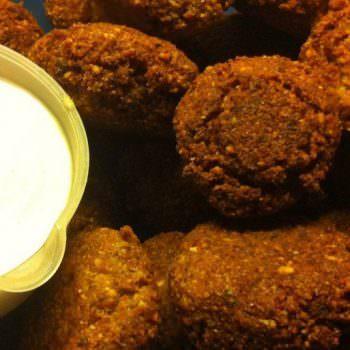 Λιβανέζικα Φαλάφελ με σάλτσα Ταχίνι