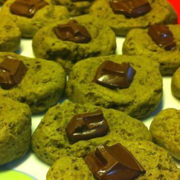 Chocolate Matcha Cookies