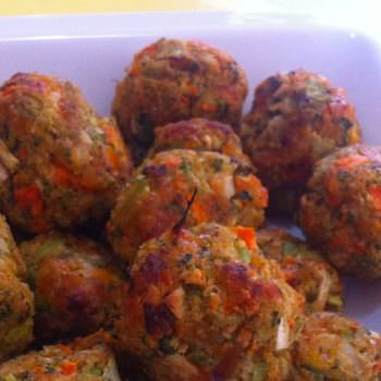 Mixed Vegetable Patties