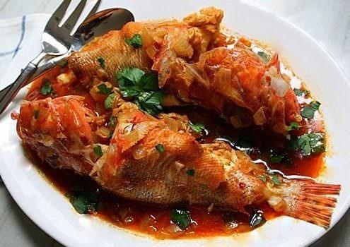 Bourdeto Corfu fish recipe