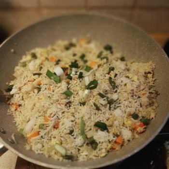 Ασιατικό Τηγανητό Ρύζι