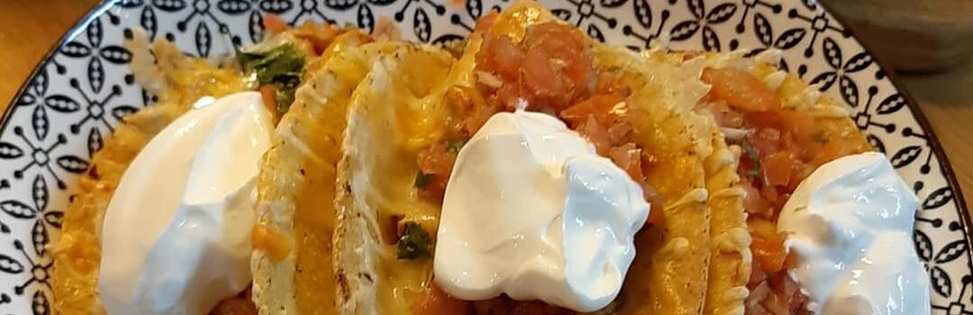 Easy  Oven Baked Chicken Tacos